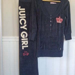 Juicy Couture lounge wear